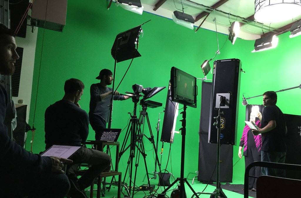Green Screen BTS